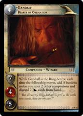 Gandalf, Bearer of Obligation