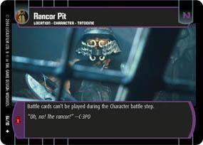 Star Wars TCG ROTJ Rancor
