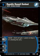 Republic Assault Gunboat