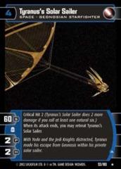 Tyranus's Solar Sailer (A)