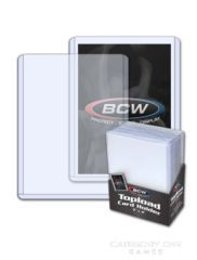 3 X 4 Topload Card Holder - Premium 25 per pack BCW