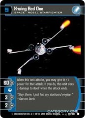 X-wing Red One - Foil