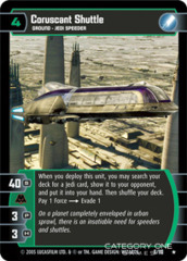 Coruscant Shuttle - Foil