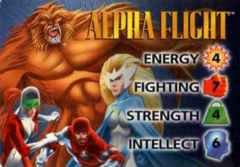 Alpha Flight 4-Grid Character Card