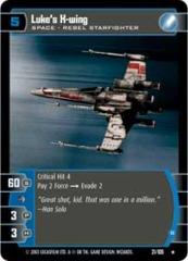 Luke's X-wing (B)