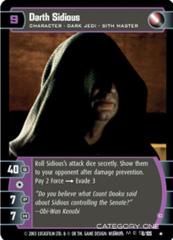 Darth Sidious (C) - Foil