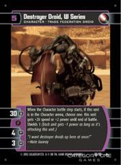 Destroyer Droid, W Series - Foil