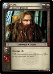 Gimli, Dwarven Delegate (P)
