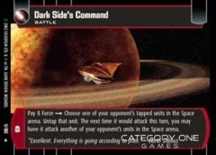 Dark Side's Command - Foil