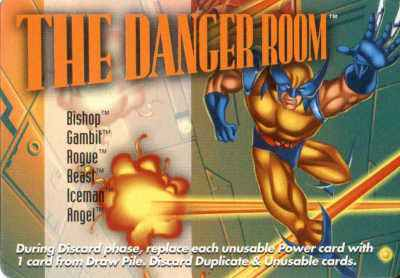 Location Danger Room, The
