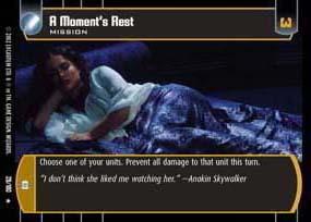 A Moments Rest - Foil