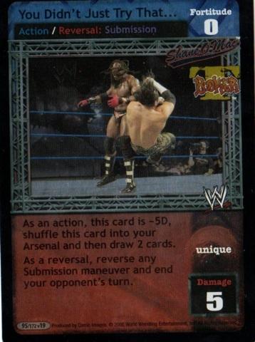 Mint//NM Raw Deal Wrestli for Booker T WWE: Yo Dawg SS3 Respect da Bookerman