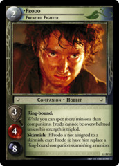 Frodo, Frenzied Fighter (F)