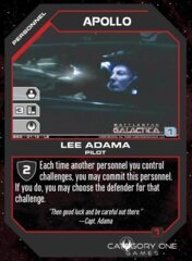 Apollo, Lee Adama (Foil)