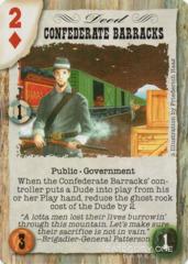 Confederate Barracks