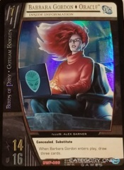 Barbara Gordon, Oracle - Inside Information (EA)