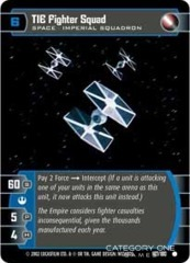 TIE Fighter Squad - Foil
