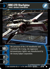 ARC-170 Starfighter - Foil