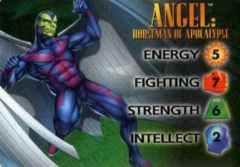 Angel : Horseman Of Apocalypse 4-Grid Character Card