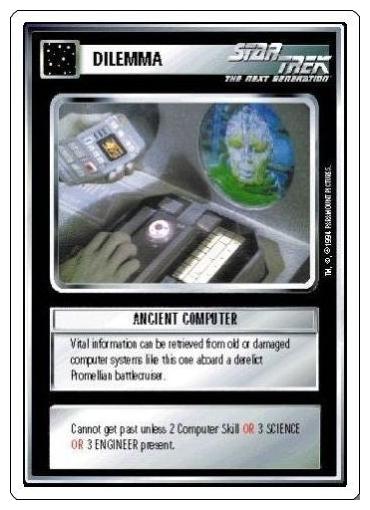 Ancient Computer [White Border Alpha]