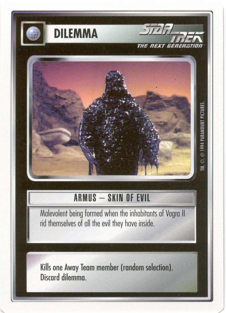 Armus-Skin Of Evil [White Border Alpha]