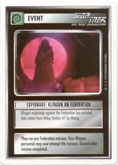 White Border Alpha 1E Premiere Unlimited W Moderately Played Star Trek: Data