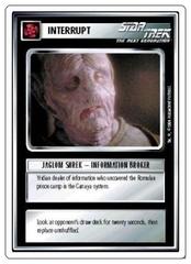 Jaglom Shrek-Information Broker [White Border Alpha]