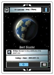 Avert Disaster [White Border Alpha]