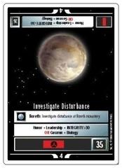 Investigate Disturbance [White Border Alpha]