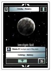 Investigate Raid [White Border Alpha]