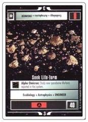 Seek Life-Form [White Border Alpha]