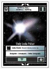 Study Lonka Pulsar [White Border Alpha]