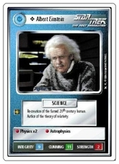 Albert Einstein [White Border Alpha]