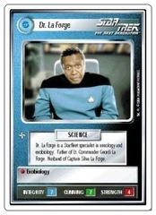 Dr. La Forge [White Border Alpha]