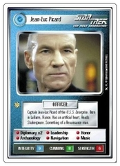 Jean-Luc Picard [White Border Alpha]
