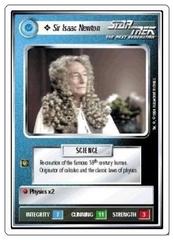 Sir Isaac Newton [White Border Alpha]