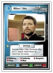 William T. Riker [White Border Alpha]