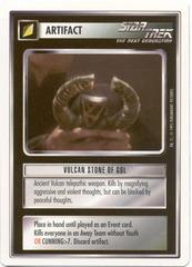 Vulcan Stone Of Gol [White Border Beta]
