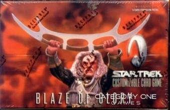 Blaze of Glory 130 Card Full Set