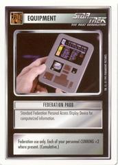 Federation Padd [White Border Beta]