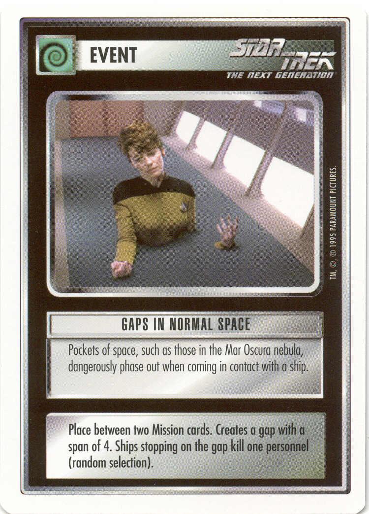 Star Trek CCG Premiere WB Unlimited Richard Galen
