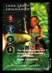 Lara Croft, Commando