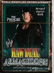 Armageddon The Phenom (Undertaker) Starter Deck