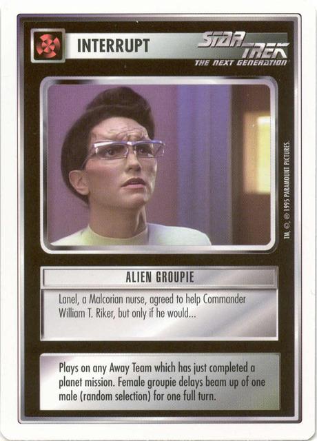 Alien Groupie [White Border Beta]