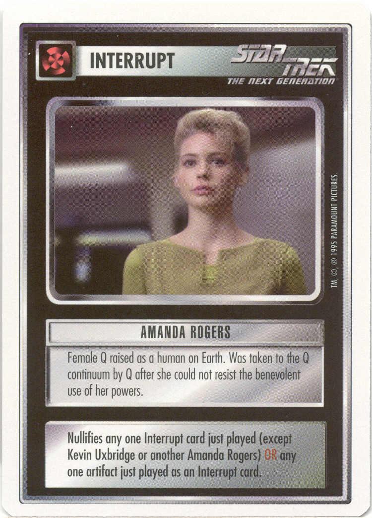 Amanda Rogers [White Border Beta]