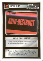 Auto-Destruct Sequence [White Border Beta]