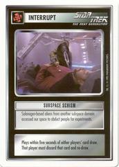 Subspace Schism [White Border Beta]