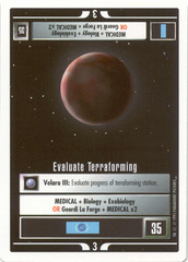 Evaluate Terraforming [White Border Beta]