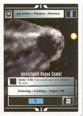 Investigate Rogue Comet [White Border Beta]