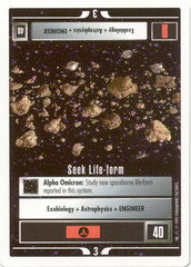 Seek Life-Form [White Border Beta]